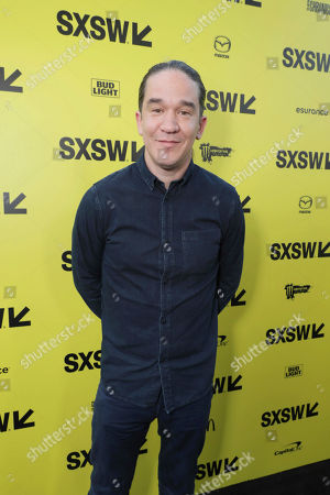"""Director Daniel Espinosa seen at Columbia Pictures World Premiere of """"Life"""" the movie at SXSW 2017, in Austin, TX"""
