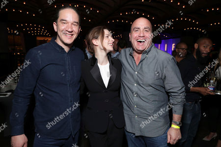 """Director Daniel Espinosa, Rebecca Ferguson and Executive Producer Don Granger seen at Columbia Pictures World Premiere of """"Life"""" the movie at SXSW 2017, in Austin, TX"""