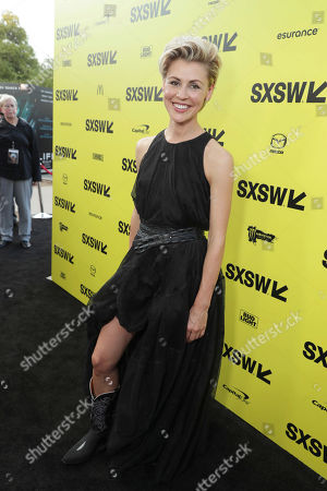 """Olga Dihovichnaya seen at Columbia Pictures World Premiere of """"Life"""" the movie at SXSW 2017, in Austin, TX"""