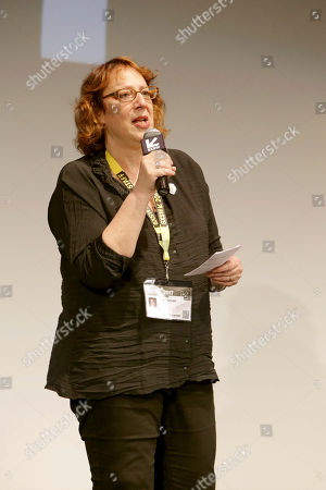 """Stock Picture of Janet Pierson, Head of SXSW Film, seen at Columbia Pictures World Premiere of """"Life"""" the movie at SXSW 2017, in Austin, TX"""
