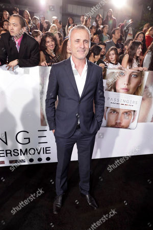 """Stock Photo of Timothy V. Murphy seen at Columbia Pictures World Premiere of """"Passengers"""" at Regency Village Theatre, in Los Angeles"""