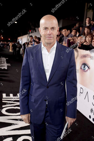 """Producer Neal H. Moritz seen at Columbia Pictures World Premiere of """"Passengers"""" at Regency Village Theatre, in Los Angeles"""