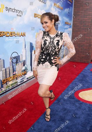 "Tammy Townsend seen at Columbia Pictures World Premiere of ""Spider-Man: Homecoming"" at TCL Chinese Theatre, in Hollywood, CA"