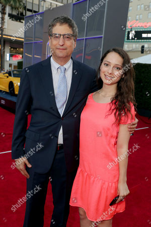 """Stock Image of Tom Rothman, Chairman, Sony Pictures Motion Picture Group, and Nora Rothman seen at Columbia Pictures World Premiere of """"Spider-Man: Homecoming"""" at TCL Chinese Theatre, in Hollywood, CA"""