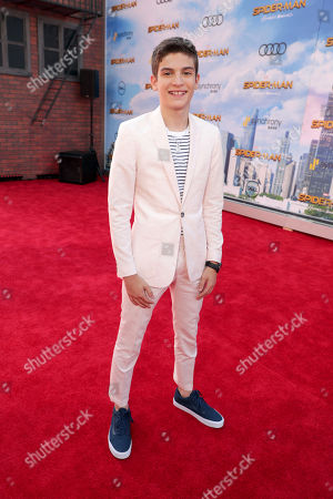 """Michael Barbieri seen at Columbia Pictures World Premiere of """"Spider-Man: Homecoming"""" at TCL Chinese Theatre, in Hollywood, CA"""