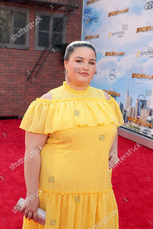 "Isabella Amara seen at Columbia Pictures World Premiere of ""Spider-Man: Homecoming"" at TCL Chinese Theatre, in Hollywood, CA"