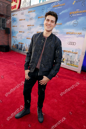 "Anthony Padilla seen at Columbia Pictures World Premiere of ""Spider-Man: Homecoming"" at TCL Chinese Theatre, in Hollywood, CA"