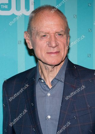 Alan Dale attends the CW Network 2017 Upfront presentation at The London Hotel, in New York