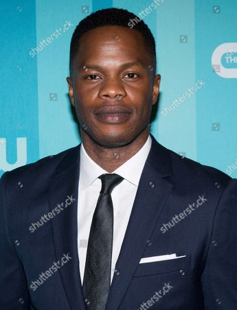 Sam Adegoke attends the CW Network 2017 Upfront presentation at The London Hotel, in New York