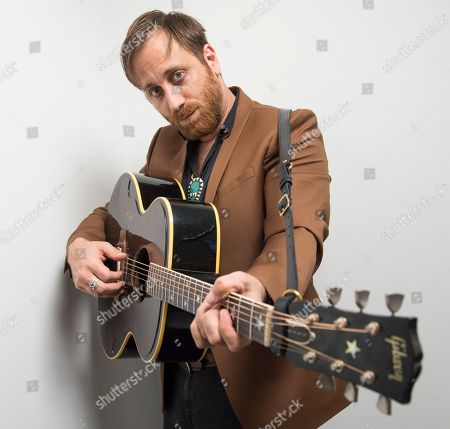 """Dan Auerbach poses for a portrait in New York to promote his solo album, """"Waiting On a Song."""" The album was recorded last summer in Auerbachâ?™s studio in Nashville, Tenn., and features musicians like Rock and Roll Hall of Famer Duane Eddy, 14-time Grammy winner Jerry Douglas and Johnny Cashâ?™s former bass player Dave Roe"""