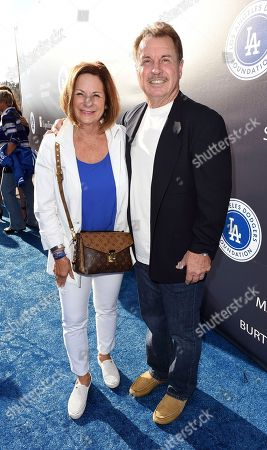 Editorial photo of Dodgers Foundation Blue Diamond Gala 2017, Los Angeles, USA - 8 Jun 2017
