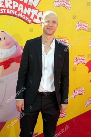 "Composer Theodore Shapiro seen at DreamWorks Animation and Twentieth Century Fox ""Captain Underpants: The First Epic Movie"" Los Angeles Premiere at Regency Village Theater, in Los Angels"