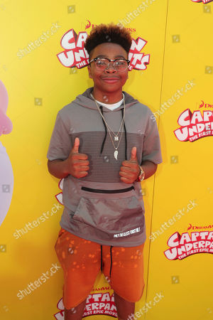 """Editorial photo of DreamWorks Animation and Twentieth Century Fox """"Captain Underpants: The First Epic Movie"""" Premiere, Los Angeles, USA - 21 May 2017"""