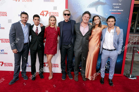 """Editorial photo of Entertainment Studios Motion Pictures """"47 Meters Down"""" Premiere, Los Angeles, USA - 12 Jun 2017"""