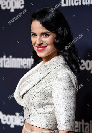 Actress Shirley Rumierk attends the Entertainment Weekly and People Magazine New York Upfronts celebration at Second Floor, in New York