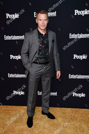 Actor Diego Klattenhoff attends the Entertainment Weekly and People Magazine New York Upfronts celebration at Second Floor, in New York