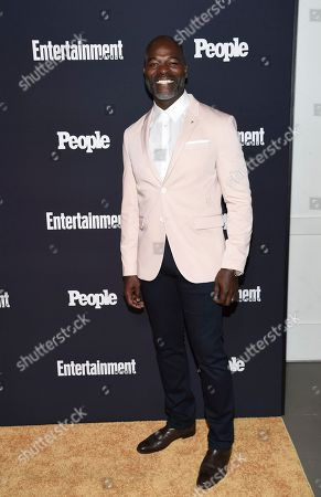 Actor Hisham Tawfiq attends the Entertainment Weekly and People Magazine New York Upfronts celebration at Second Floor, in New York