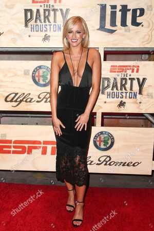 Danielle Moinet attends ESPN: The Party 2017 held, in Houston, Texas