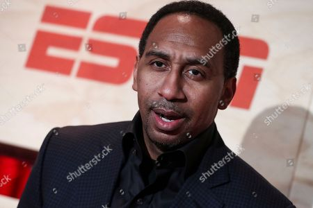 Stephen A. Smith attends ESPN: The Party 2017 held, in Houston, Texas