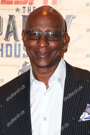 Eric Dickerson attends ESPN: The Party 2017 held, in Houston, Texas