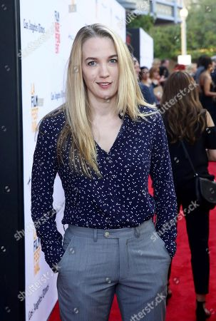 """Emily Carmichael seen at Focus Features """"The Book of Henry"""" Premiere at 2017 Los Angeles Film Festival, in Culver City, Calif"""