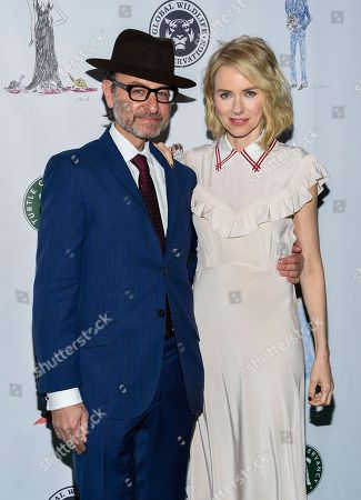 Actors Fisher Stevens, left, and Naomi Watts attend the Fourth Annual Turtle Ball at the Bowery Hotel, in New York
