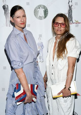 Fashion designer Jenna Lyons and Courtney Crangi attend the Fourth Annual Turtle Ball at the Bowery Hotel, in New York