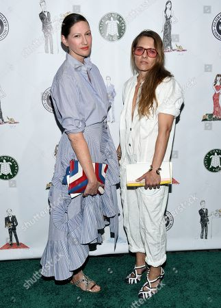 Stock Photo of Fashion designer Jenna Lyons and Courtney Crangi attend the Fourth Annual Turtle Ball at the Bowery Hotel, in New York