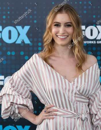 Olivia Macklin attends the FOX Network Group 2017 Upfront post-party at Wollman Rink in Central Park, in New York