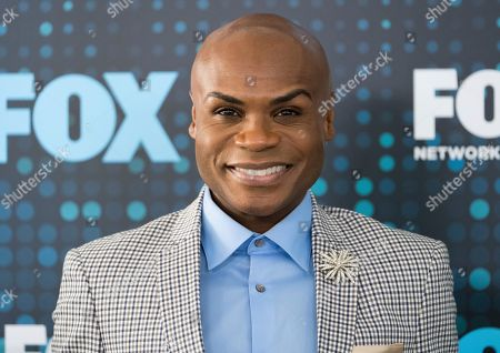 Nathan Lee Graham attends the FOX Network Group 2017 Upfront post-party at Wollman Rink in Central Park, in New York