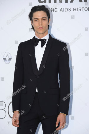 Stock Picture of Actor Will Peltz poses for photographers upon arrival at the amfAR charity gala during the Cannes 70th international film festival, Cap d'Antibes, southern France