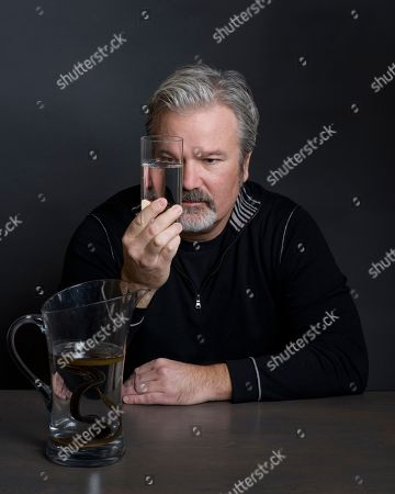 "Stock Photo of Filmmaker Gore Verbinski poses for a portrait to promote his film, ""A Cure For Wellness"" in New York"