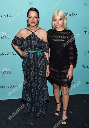 Cynthia Rowley, left, and daughter Kit Keenan attends the Harper's Bazaar 150th Anniversary Party at the Rainbow Room, in New York