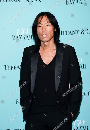 Stephen Gan attends the Harper's Bazaar 150th Anniversary Party at the Rainbow Room, in New York