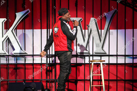 """Cory """"Zooman"""" Miller performs during the Katt Williams: Great America Tour at Philips Arena, in Atlanta"""