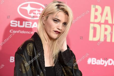 "Sky Ferreira attends the LA premiere of ""Baby Driver"" at the Ace Hotel, in Los Angeles"