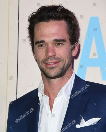 "David Walton arrives at the Los Angeles premiere of ""Band Aid"" at the Theater at the Ace Hotel on"