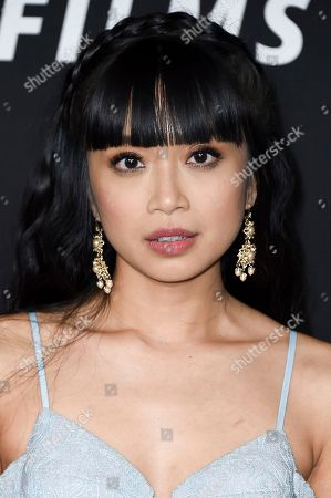 """Cynthy Wu attends the LA Premiere of """"Before I Fall at the DGA Theater, in Los Angeles"""