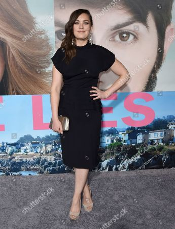 "Virginia Kull arrives at the Los Angeles premiere of ""Big Little Lies"" at the TCL Chinese Theatre on"