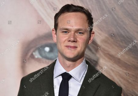 "Joseph Cross arrives at the Los Angeles premiere of ""Big Little Lies"" at the TCL Chinese Theatre on"