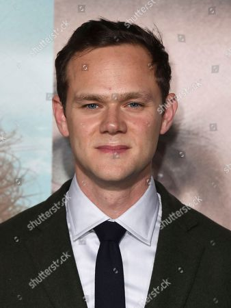 """Joseph Cross arrives at the Los Angeles premiere of """"Big Little Lies"""" at the TCL Chinese Theatre on"""