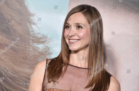 """Sarah Sokolovic arrives at the Los Angeles premiere of """"Big Little Lies"""" at the TCL Chinese Theatre on"""