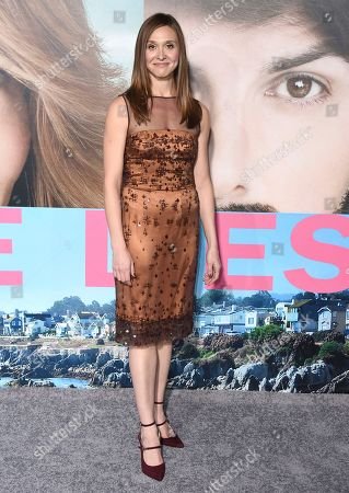 """Stock Photo of Sarah Sokolovic arrives at the Los Angeles premiere of """"Big Little Lies"""" at the TCL Chinese Theatre on"""