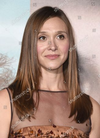 """Stock Image of Sarah Sokolovic arrives at the Los Angeles premiere of """"Big Little Lies"""" at the TCL Chinese Theatre on"""
