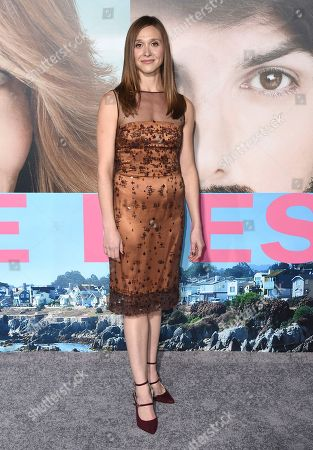 """Stock Picture of Sarah Sokolovic arrives at the Los Angeles premiere of """"Big Little Lies"""" at the TCL Chinese Theatre on"""