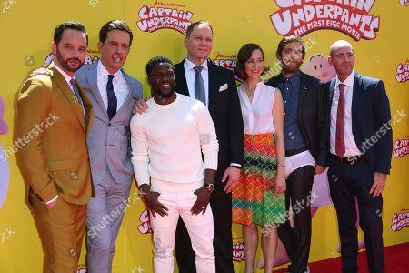 """Editorial picture of LA Premiere of """"Captain Underpants: The First Epic Movie"""", Los Angeles, USA - 21 May 2017"""