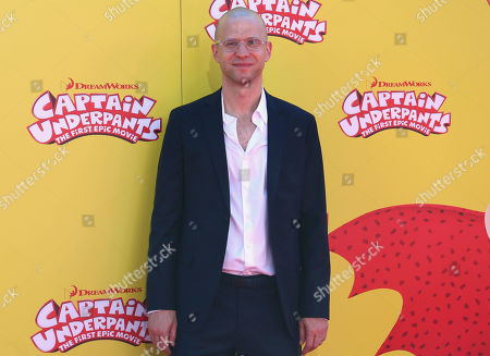 "Stock Picture of Theodore Shapiro arrives at the LA Premiere of ""Captain Underpants: The First Epic Movie"" at the Regency Village Theatre, in Los Angeles"