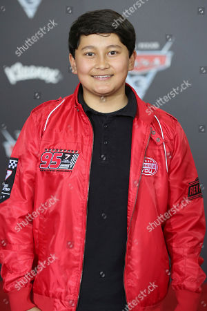 "Stock Photo of Kamran Lucas arrives at the LA Premiere of ""Cars 3"", in Anaheim, Calif"
