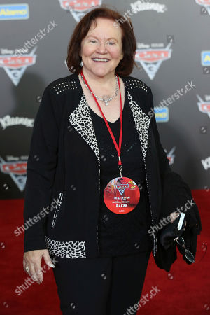 """Stock Photo of Edie McClurg arrives at the LA Premiere of """"Cars 3"""", in Anaheim, Calif"""