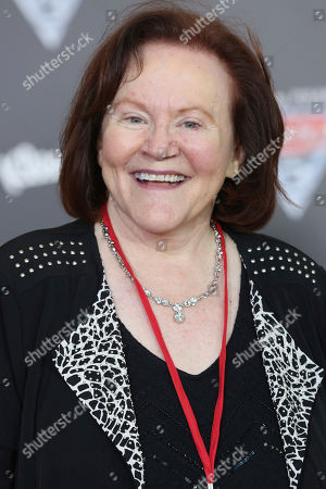 """Stock Picture of Edie McClurg arrives at the LA Premiere of """"Cars 3"""", in Anaheim, Calif"""